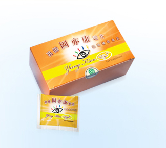 Yung-Kien-Eye plus lingzhi supplement
